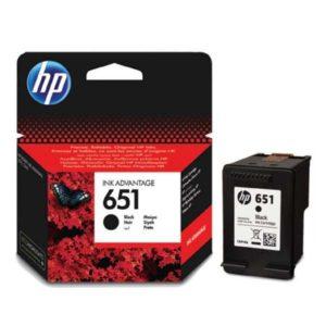 HP 651 černá