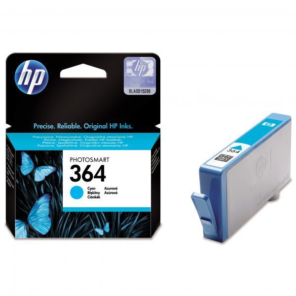 HP CB318EE - HP364 cyan